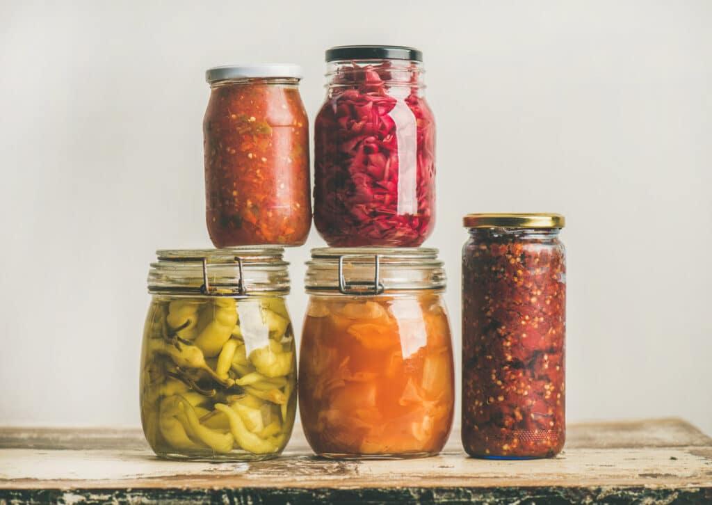autumn-seasonal-pickled-or-fermented-vegetables